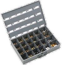 24-compartment parts bin