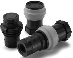 Parker PF Series Thermoplastic QC