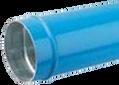 Transair Aluminum Pipe - Blue Ø168(mm