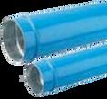 Transair Aluminum Pipe - Blue 76/100(mm)