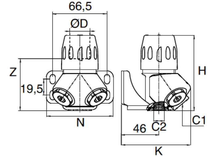 Transair Quick Assembly Brackets