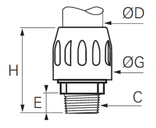 Transair Threaded Connector