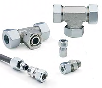 Parker EO: 24° flareless fittings for metric tubing