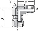 Parker X6EF - JIC Swivel Elbow Connector