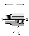 Parker Female Pipe Adapter