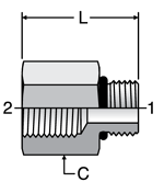 Parker Conversion Adapter