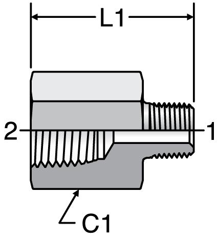 Parker Expander / Adapter