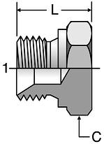 Parker K4 Hex Plugs