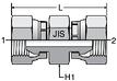 Parker HP46: JIS 60° Swivel Connector