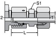 Parker DA - EO Distance Piece Adapters