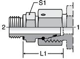 Parker EGE-R-ED - EO Swivel Connectors
