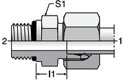 Parker GEO - EO-2 Male Connectors