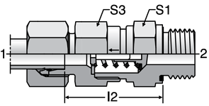 Parker RHV-R-ED - EO-2 Non-Return Valves