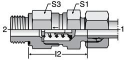 Parker RHZ-M-ED - EO-2 Non-return Valves