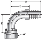 Parker 88 series 3988 fitting