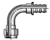 82-Series Female BSP Parallel Pipe - Swivel - 90˚ Elbow - (60˚ Cone)