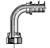 82-Series Female Seal-Lok® - Swivel - 90˚ Elbow - Long Drop