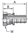 Parker 82 series 30682 fitting