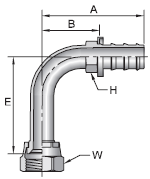 Parker 82 series 34182 fitting
