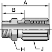 Parker 42 series 20542 fitting