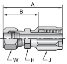 Parker 30 series 21130 fitting
