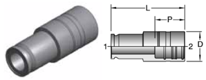 Parker MCC - Retaining Ring Flange