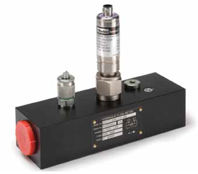 ParkerSenso Control CAN Flow Meter