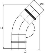 45° Elbow