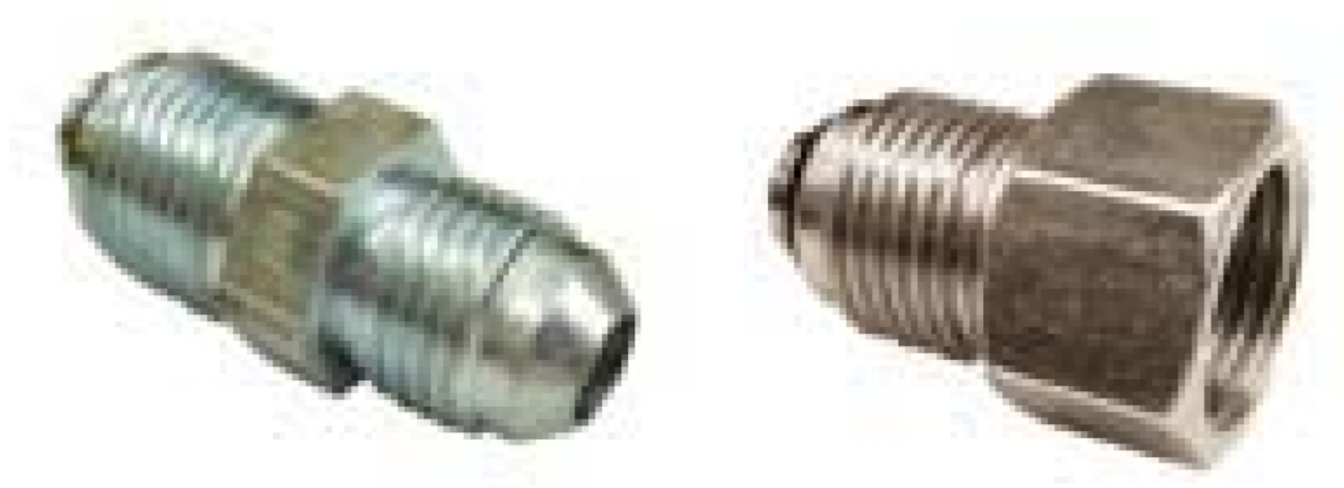 Bump Tube Adapters for Power Steering and Fuel Systems
