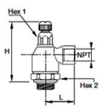 FC708 Dimensional Diagram