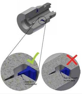 Seal-Lok Xtreme - Proper Sealing Cutaway