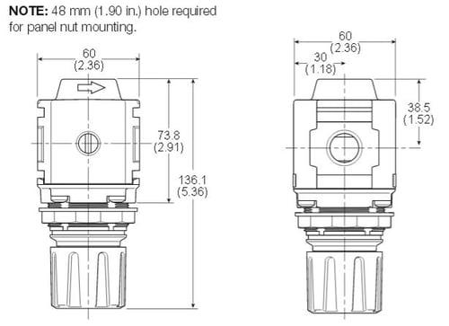 Compact-Common-P1-Regulator-Dimensions