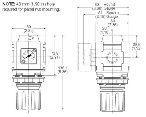 Compact-Regulator-Dimensions