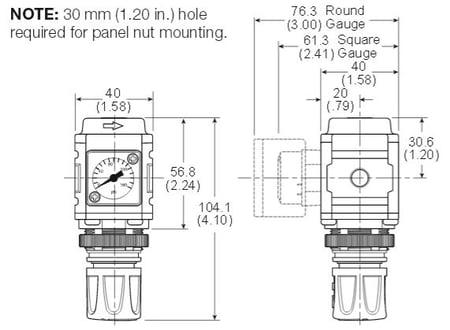mini-regulator-dimensions