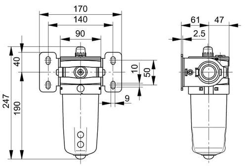 p3y-lubricator-dimensions