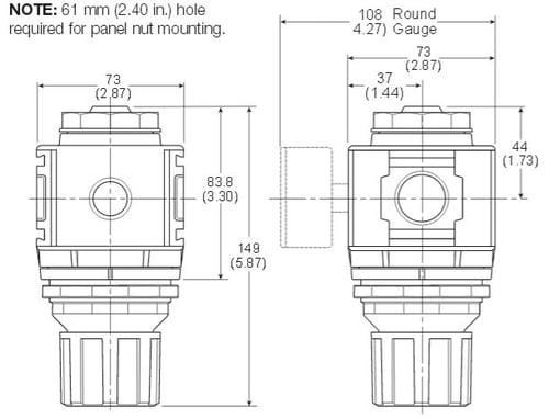 standard-regulator-dimensions