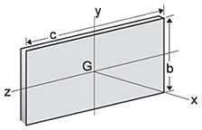 Thin Rectangular Plate