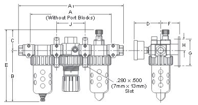 Prep-Air-II-06B-Compact-Three-Unit-Modular-Combination-Dimensions