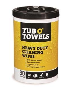 Image of Industrial Heavy Duty Gentle Cleaning Wipes - GasOila