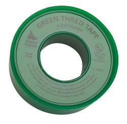 Image of Green PTFE Thread Seal Tape for Oxygen - Gasoila
