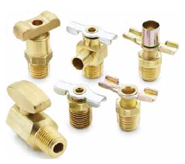 Drain Cocks & Ground Plug Shutoff Valves