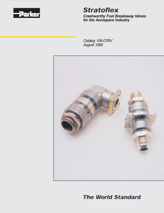 stratoflex fuel brekaway valves