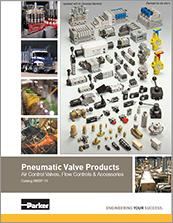 parker - pneumatic valves accessories - catalog# 0600P