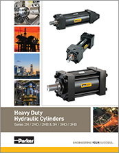 parker hydraulic cylinders - catalog# HY08-13141