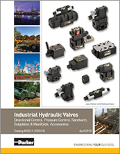 parker hydraulic valves - catalogs# msg14-2500