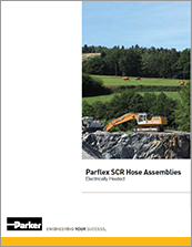 parker electrically heated scr diesel exhaust hose - catalog# 4660-SCR