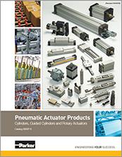 parker pneumatic cylinder - catalog# 0900