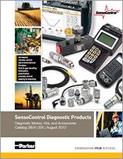 parker electronic diagnostic products sensocontrol - catalog# 3854