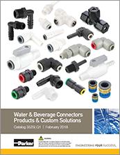 parker plastic fittings - catalog# 3525lq1