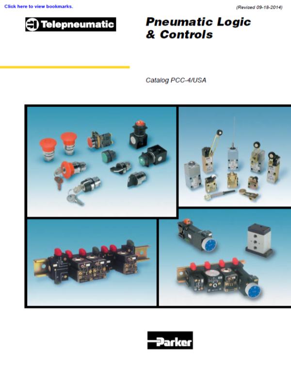 parker pneumatic logic & controls - catalog# PCC-4